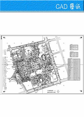 大学校区规划设计