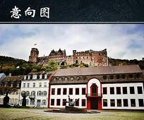 德国古城堡图