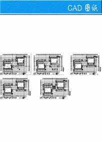 建筑平面CAD