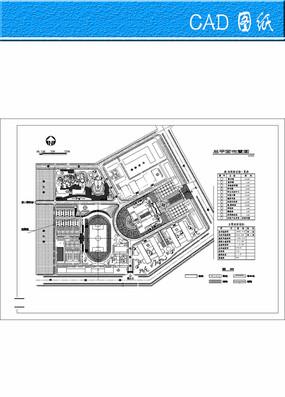 某大学总体规划方案图