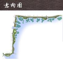 亲水湿地公园总平图