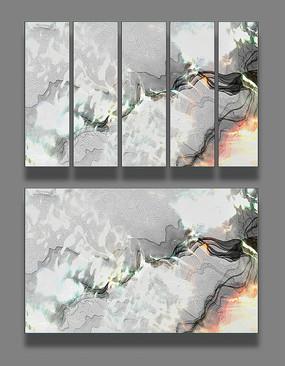 下载收藏 抽象水墨中式装饰画 下载收藏 意境抽象风景水墨装饰画