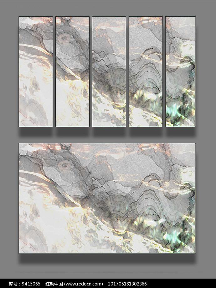 抽象唯美背景装饰画图片
