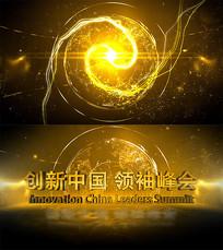创新中国峰会开场片头AE模板