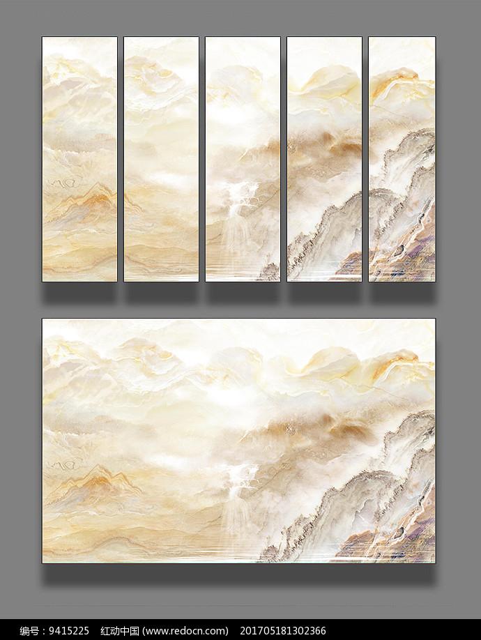 大理石纹抽象背景墙图片