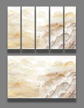 大理石纹抽象背景墙