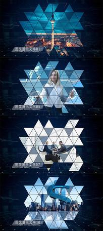 科技宣传片图文展示AE模板