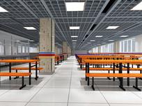 清河中学食堂