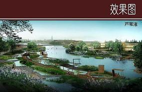 湿地公园效果图