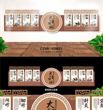 中医养生文化墙