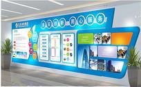 大型企业文化墙办公室形象墙