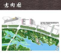 滨水休闲产业园平面图