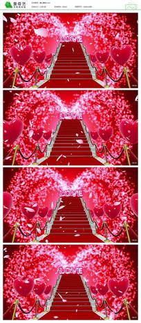 浪漫爱情婚礼婚庆背景视频