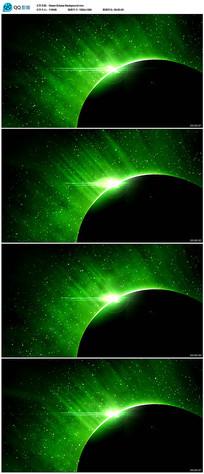绿色地球背景视频