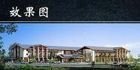 泰式建筑效果图片 JPG