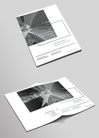 通用企业画册封面设计模板