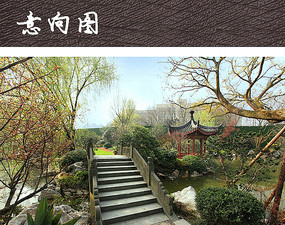 中式园林公园景观