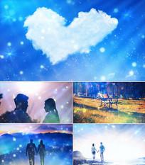 歌曲爱情的故事舞台背景视频