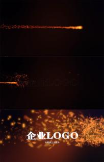 火焰燃烧LOGO片头AE模板