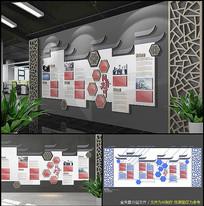 中式古典古典企业文化墙