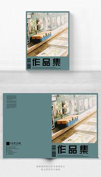 毕业季作品集画册封面