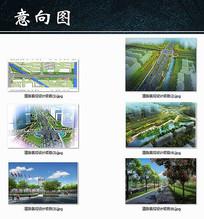 道路景观设计项目