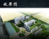 工厂区域规划效果图 JPG