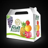 简洁时尚水果包装