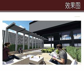 酒店屋顶休闲空间设计