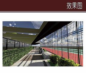 酒店屋顶运动场地设计