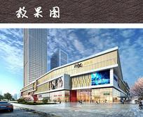 商业综合广场景观 JPG
