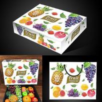 天地盖水果包装设计