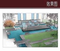 庭院水景效果图 JPG