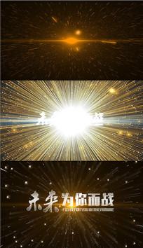 震撼爆炸粒子扩散AE模版