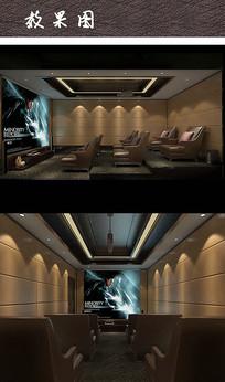 精致小影院空间设计