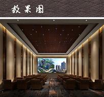 酒店报告厅包厢室内设计