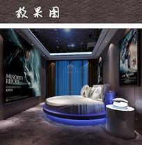 酒店主题房间装修设计
