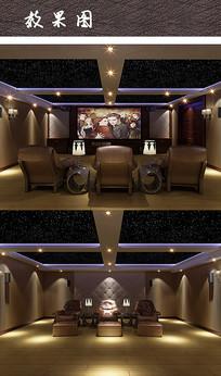 室内家庭影院装修设计