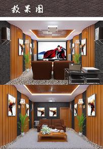 私人影院包厢室内设计