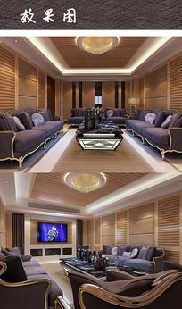 现代会客厅装修设计