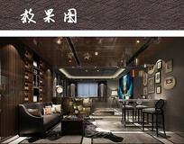 现代时尚客厅装修