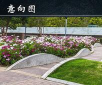 园林景观花池 JPG