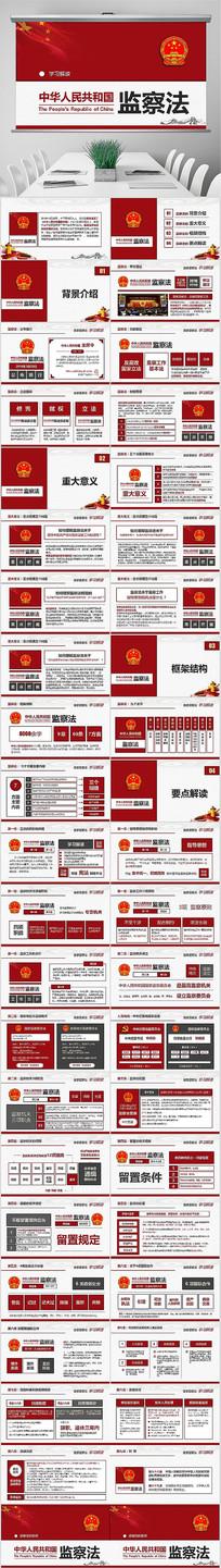 解读中华人民共和国监察法PPT