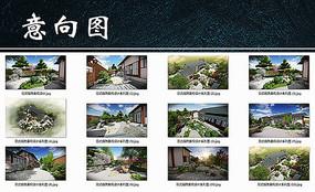 日式庭院景观设计系列图