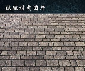 石砖路背景