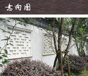 新中式装饰围墙图片