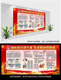 预防火灾消防安全宣传展板