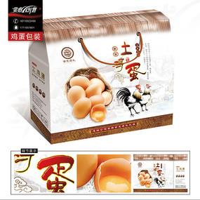 中国风土鸡蛋包装