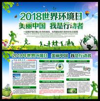 2018世界环境日展板