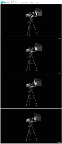 带透明通道摄像机视频